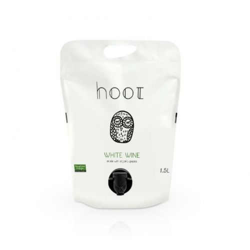 Hoot White Pouch 2019