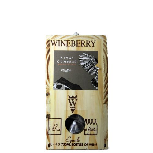 Malbec Altas Cumbres Wineberry Box 2018