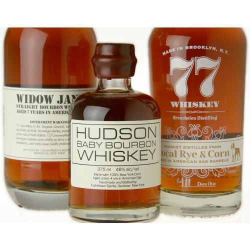 Trio of New York Whiskies