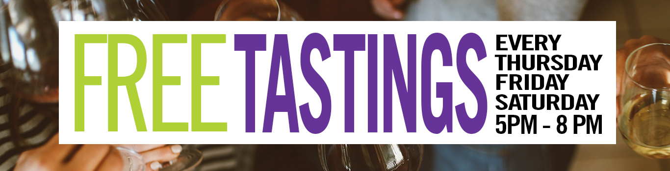 Free wine and spirits tastings in New York City every Thursday, Friday, and Saturday