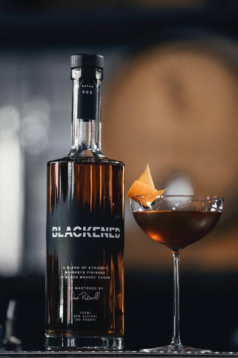 Blackend Whiskey Cocktail